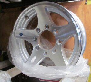 5-Star, Aluminum (Clear coat)