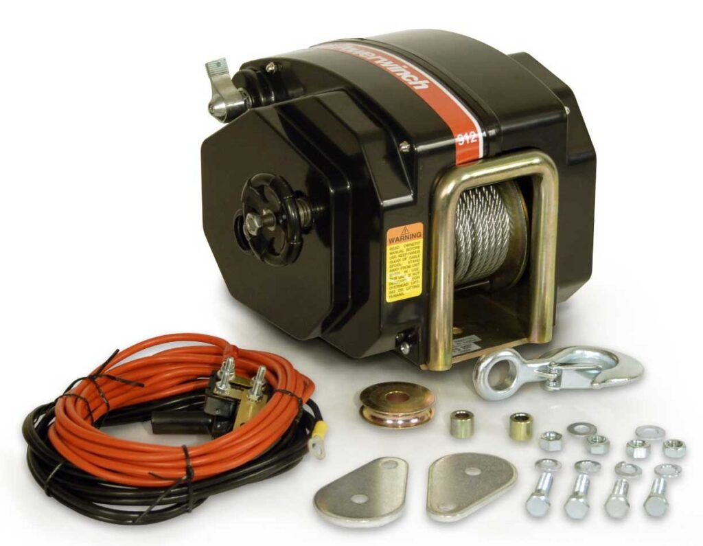 4,000 lbs. Electric winch (5400700)